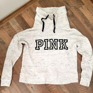 PINK VS cowl neck sweatshirt